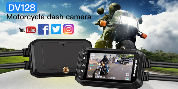 DV128 Motorcycle Dashcam
